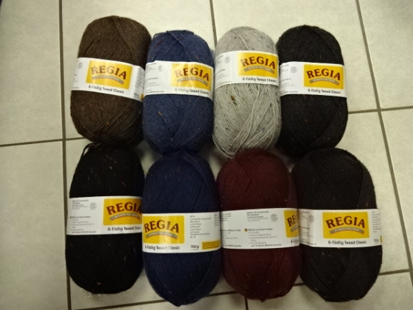 Regia Tweed Color 6-fädig 150g